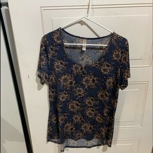 LulaRoe floral T-shirt